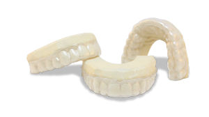 The GrindGuardPM night time teeth grinding (Bruxism) mouthguards for sale.